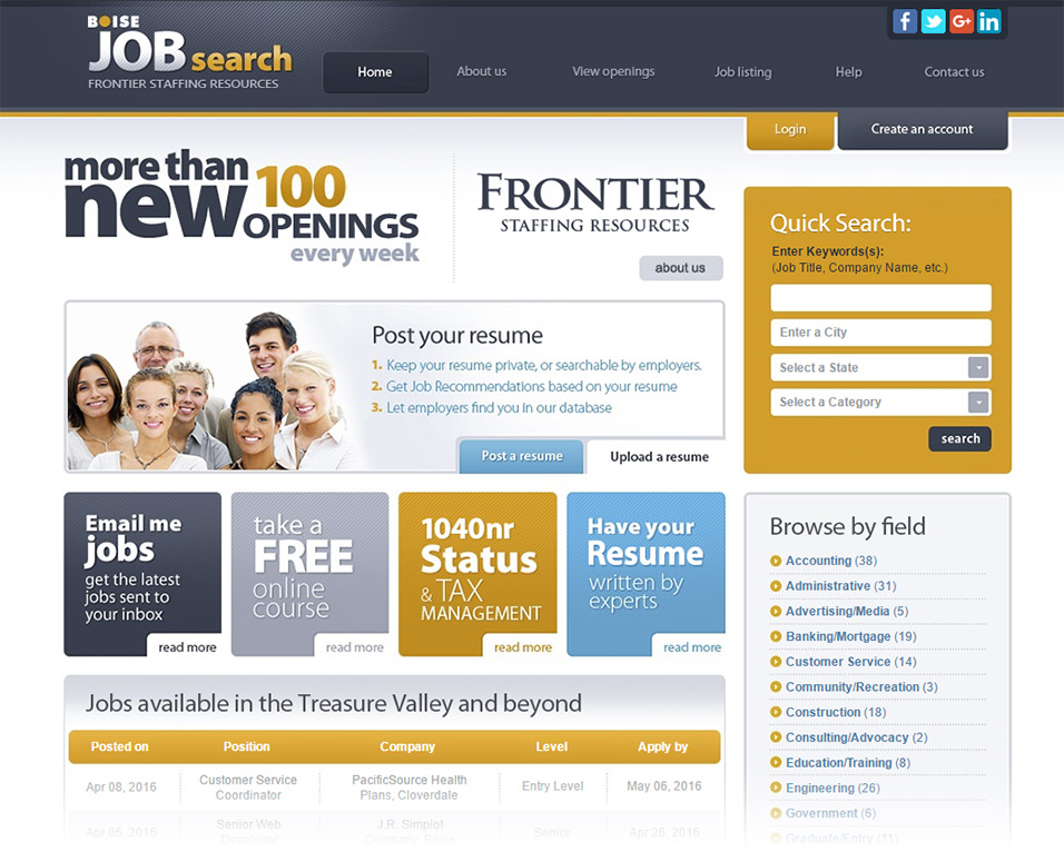 Frontier Staffing Resources