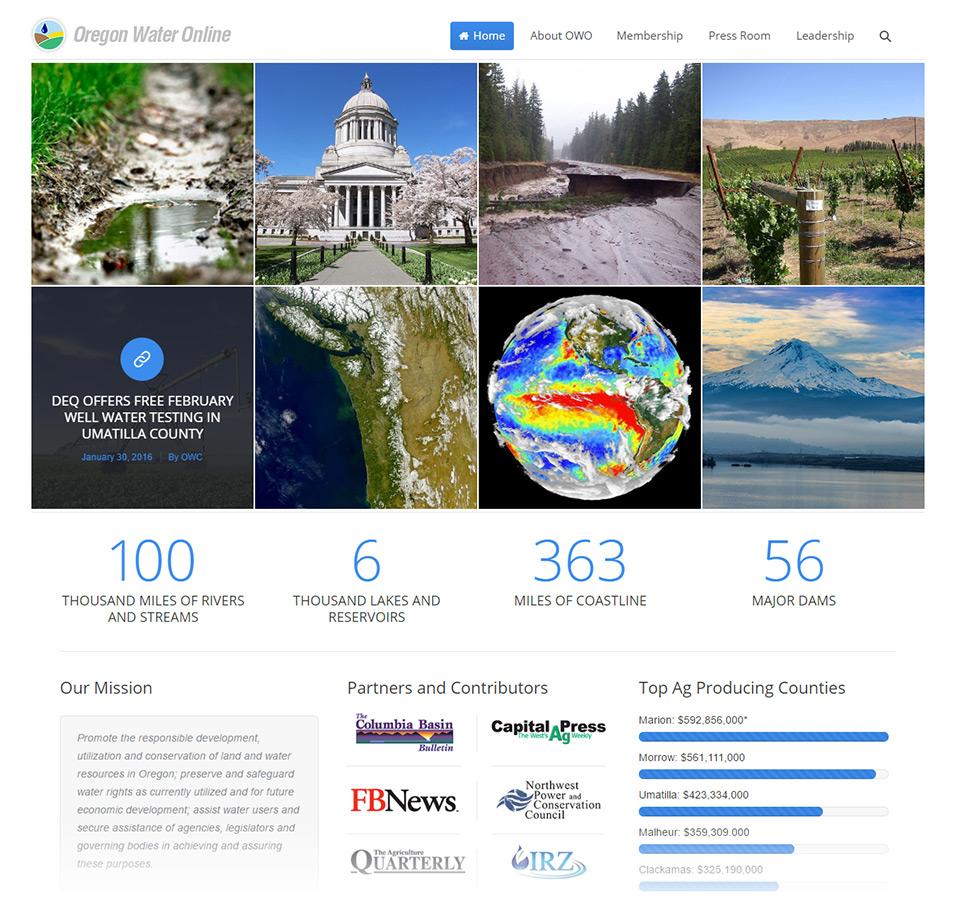 Oregon Water Online